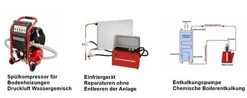 Heizung Sanitär Boilerentkalken Einfrieren Bodenheizungspülen Bodenheizung spülen Thun Hilterfingen Klimaanlagen