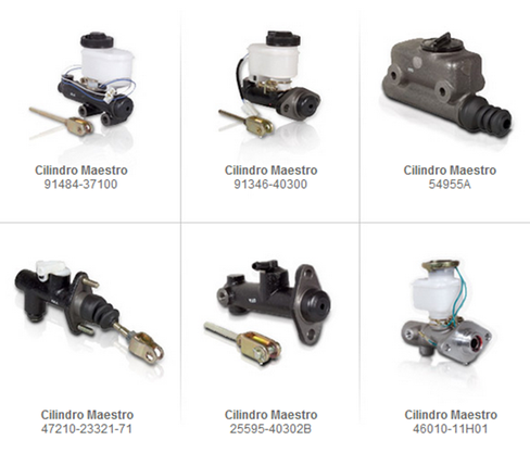 cilindro maestro frenos partes refacciones accesorios montacargas mexico