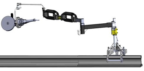 Bras exosquelette ZeroG applications BTP