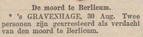 Woensdag 30 augustus 1899