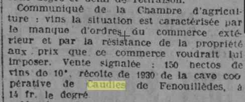 L'Express du Midi 4 octobre 1931  (rosalis.bibliotheque.toulouse.fr)