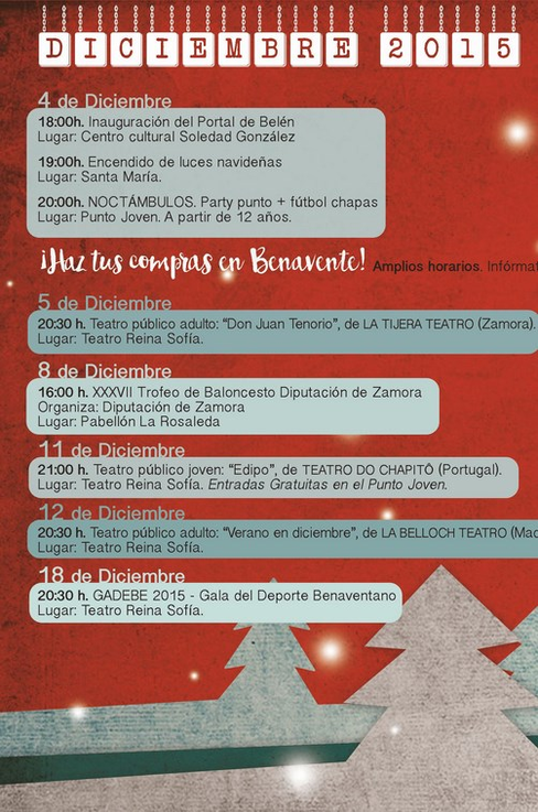 La Navidad en Benavente: programación completa, encendido de luces, cabalgata de reyes