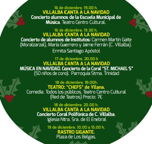 Programa Navidad Collado Villalba