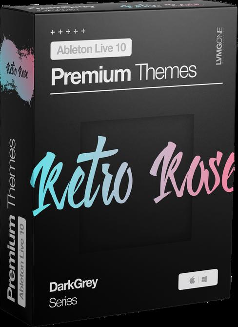 Ableton Live 10 theme RetroRose Software Box