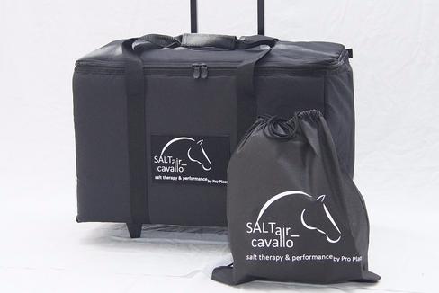 Mobile Salzinhalation für Pferde, SALTair_cavallo
