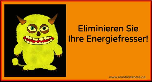 Energiefresser im Kopf eliminieren