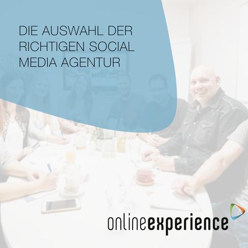 Die Auswahl der richtigen Social Media Agentur