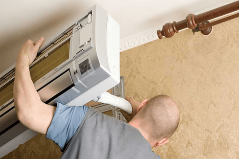 Installation pompe à chaleur air air, climatisation, clim, pac, mitsubishi daikin atlanticB-energie Clim france