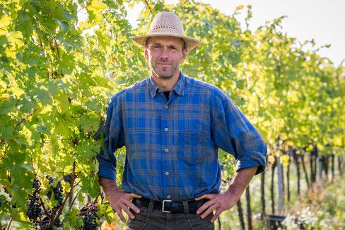 Ralf Wassmann Dipl. Ing. für Getränketechnologie, Gründer und Leiter des Weinguts Wassmann