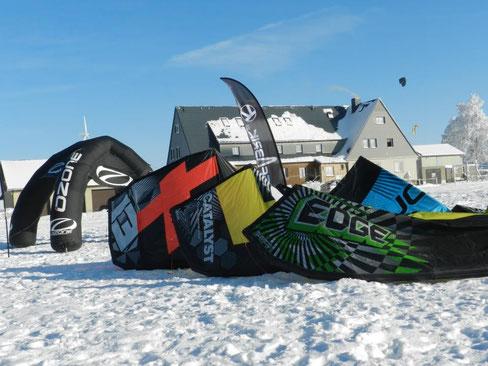 Snowtine Events von Ozone Kiteshop Kitefabrik