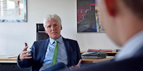 """""""Die Entscheidung ist lange gereift"""": Christian Grahl tritt nicht mehr bei der Bürgermeisterwahl 2021 in Garbsen an. Quelle: Gerko Naumann (www.haz.de)"""