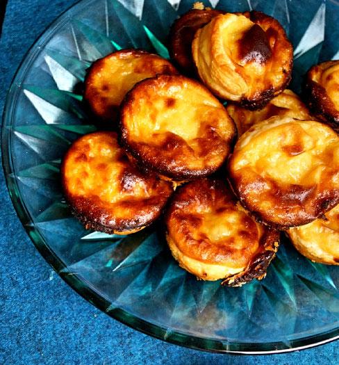 Pastéis de Nata - portugiesische Vanilletörtchen