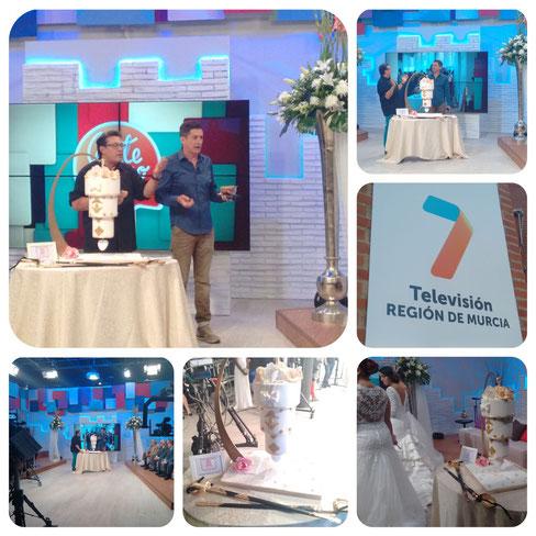 La dulce ilusión en televisión. Programa gente como tú de Antonio Hidalgo. 7tv región de Murcia
