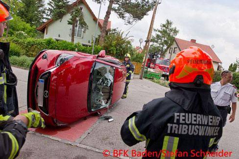 © Bezirksfeuerwehrkommando Baden/Stefan Schneider