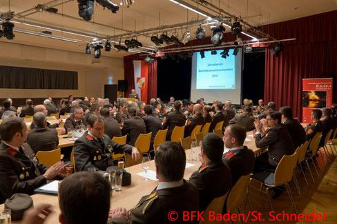 Feuerwehr, Blaulicht, Bezirksfeuerwehrtag, BKFDO Baden, Berndorf