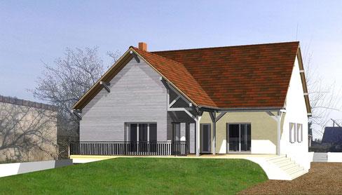 Permis de construire lucarne avec vue for Permis construire maison individuelle