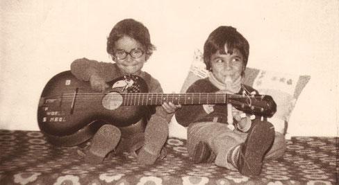 Bino Dola und Bruder Aldo Ammendola