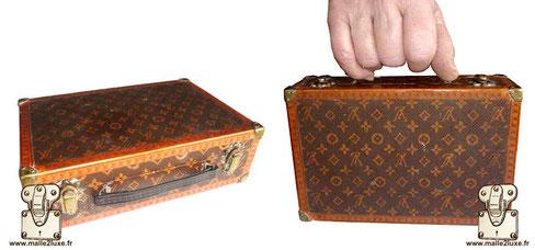 Suitcase Louis Vuitton flower Extremely rare produced around 1910 Dimensions: 20cm x 13cm x 6cm