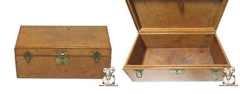 malle a fleur cuir de vachette 1927 louis vuitton