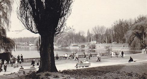 Am Aasee 1950er Jahre
