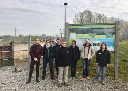 L'équipe technique de l'Entente Oise Aisne lors du denier exercice en octobre 2017.