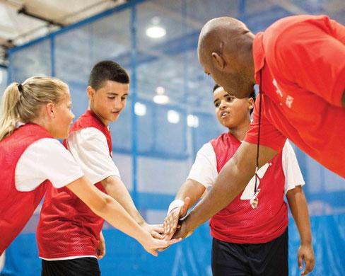 Escuelas Deportivas, el primer contacto con el deporte