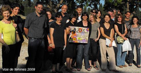 les bénévoles du festival voix de femmes