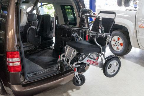 Ergoflix-Verladung im VW Caddy