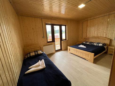 Mehrbettzimmer in Bakhmaro.