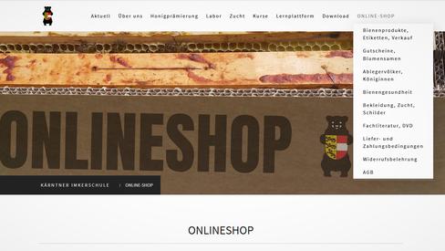 Online-Shop der Kärntner Imkerschule: Königinnen, Behandlungsmittel, Imkereibedarf u.v.m.
