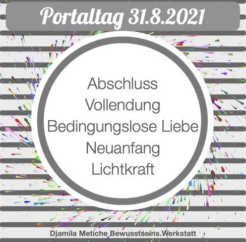 Tagesimpuls Portaltag 31.8.2021