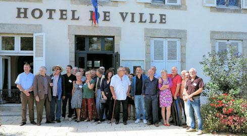 Réception des artistes à l'hôtel de ville - 11/09/2016