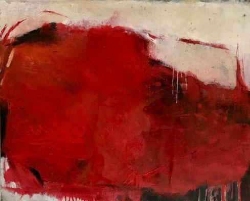 Leinwand, 100 x 80 cm, Mischtechnik - Christiana Sieben