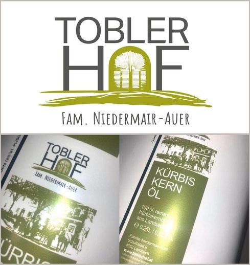 Logogestaltung Tobler Hof von Anita Födinger graphics & arts