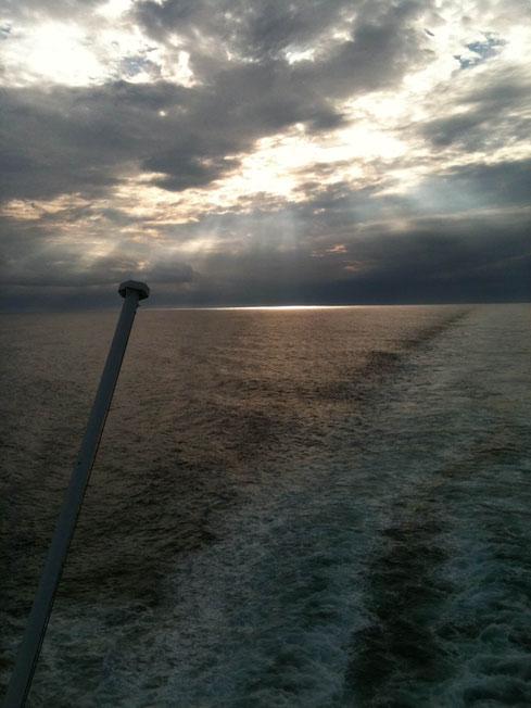 Überfahrt von Amsterdam-Ijmuiden nach Newcastle-upon-Tyne