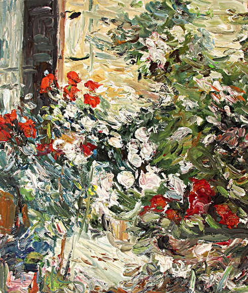 Garten Le Fort   2005, Öl auf LW, 46 cm x 55 cm
