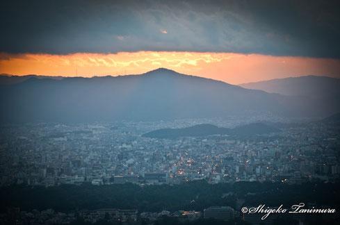 京都の街がキラキラと光っております☆