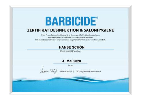 Barbicide Hygiene