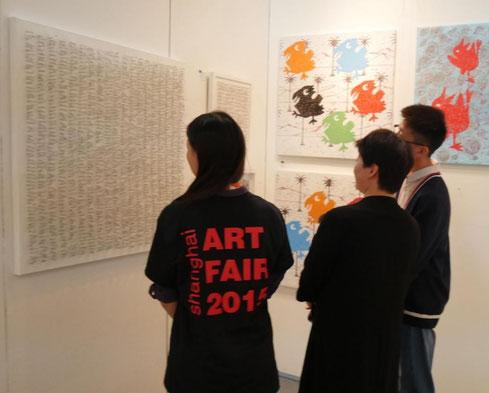 Christa Schmid-Ehrlinger Shanghai Art Fair  2015
