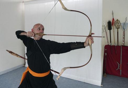 Gong Dao Tir à l'arc Chinois avec Jérôme Chaput