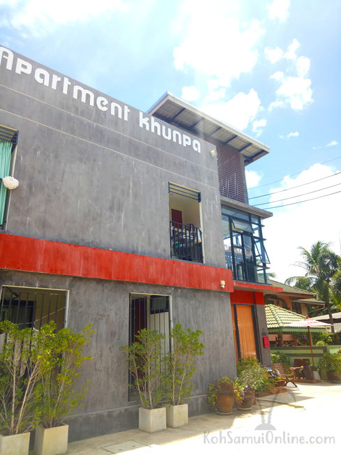 Wohnungen Koh Samui Appartment KhunPa