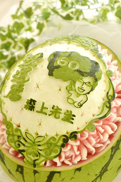#カービング #大阪 #習い事 #彫刻 #フルーツカービング #ソープカービング #スイカ #フルーツ #カッティング #soap #soapcarving #fruitscarving #cutting #carving #watermelon #fruit #fruits #melon