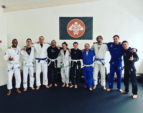 BJJ Trainer Julian Fazekas-Con hat langjährige Kampfsport Erfahrung
