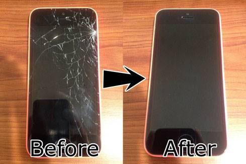 ガラス割れ 修理 広島のiPhone修理はミスター・アイフィクス