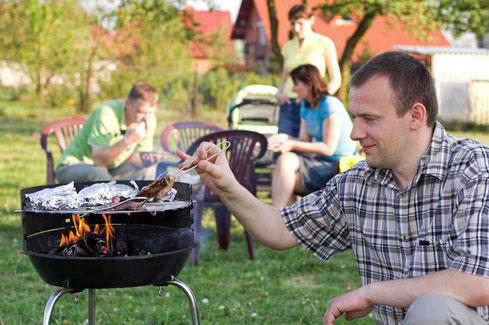 Ferienwohnungen Mirow, mit Grillplatz