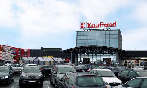 Aaugenoptik Tölle befindet sich im Vorkassenbereich des Kaufland, Südring-Center