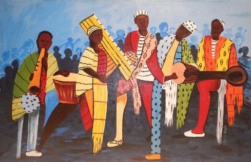 Förderung liberianischer Kunst