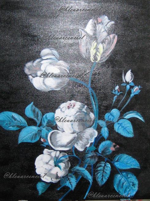 Les fleurs et feuillages