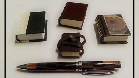 Kleine Notizbücher