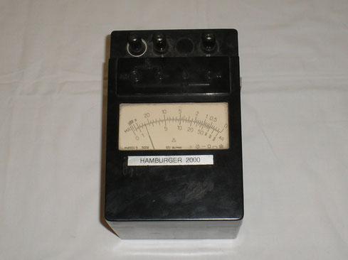 UDSSR  Isolations Messgerät Typ. M 4100/3 - NVA-DDR